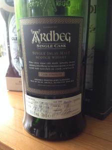 Här är den. Kanske den bästa whisky jag har druckit.