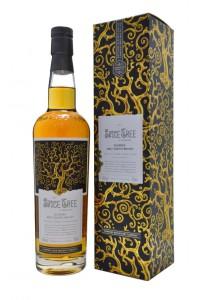 Snygg flaska, snygg låda, snygg whisky.