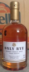 Får en ryewhisky kallas single malt? Ja, tycker Glann ar Mor.