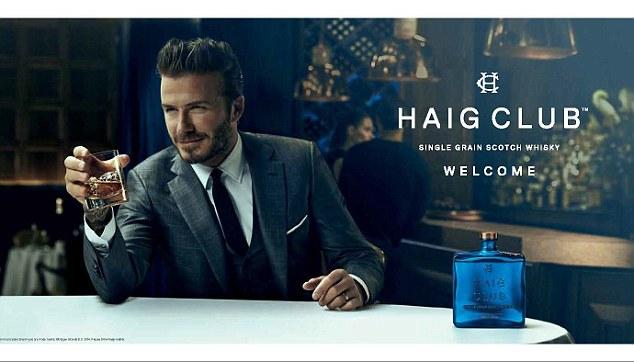 Jag är världens vackraste man. Drick Haig och bli lika framgångsrik som jag.