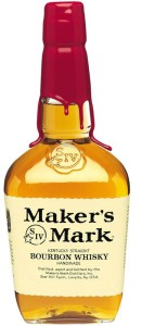 Maker's Mark, 45%. Heeeeelt okej.