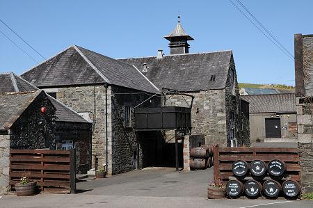 Vackra Bladnoch distillery. Bildkälla: undiscoveredscotland.co.uk