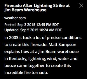2003 var det, ja. Inte direkt nyss.