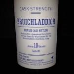 Två privatfat från Bruichladdich distillery