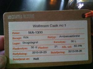 En riktigt trevlig whisky, detta.