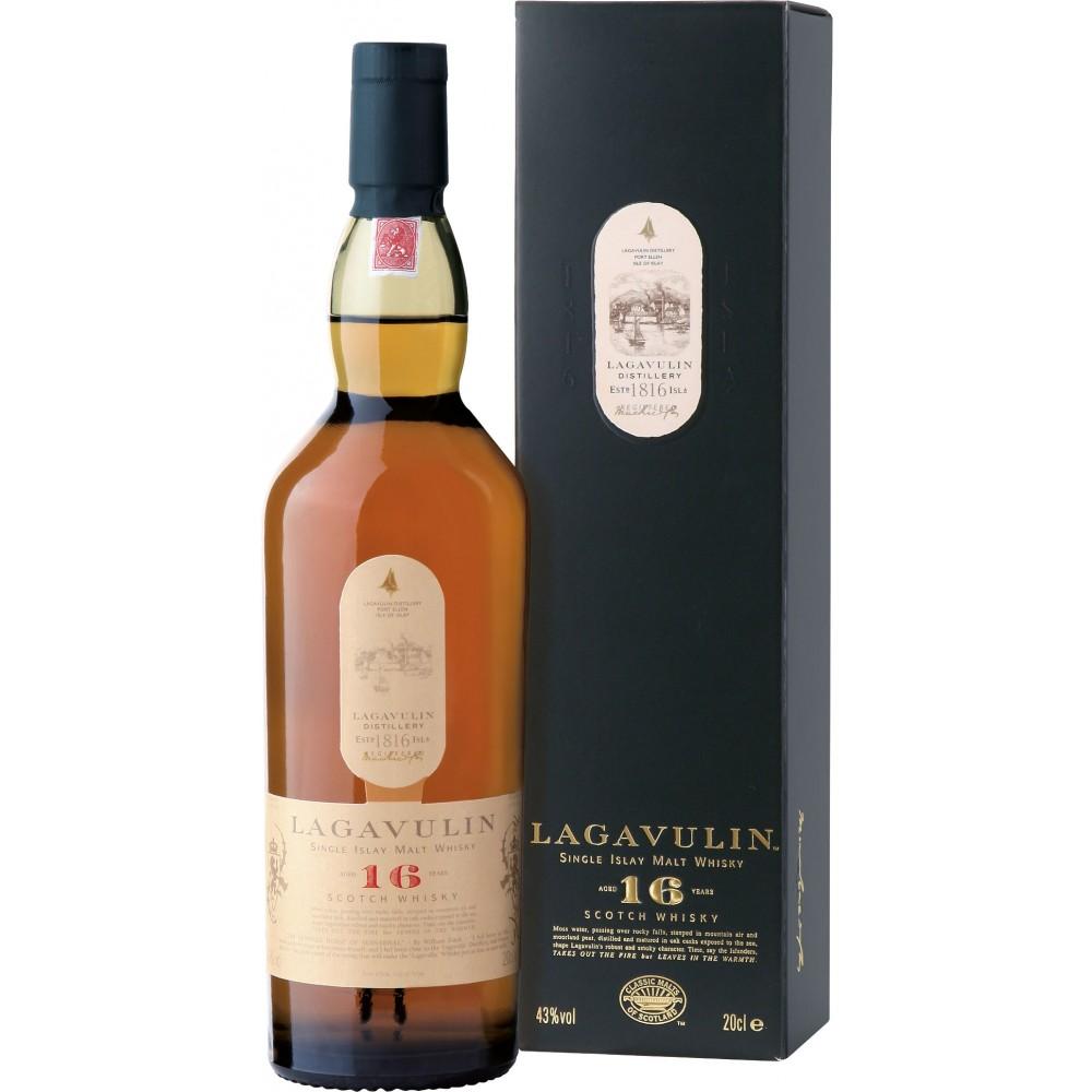 Lagga 16: det ultimata beviset på att whisky visst kan vara hur jävla bra som helst även om den kylfiltreras och proppas med färgmedel.