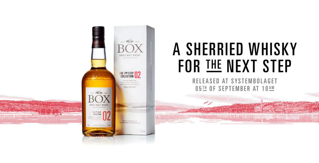 Box drar fram sherryfaten.