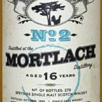 Mortlach 16 YO Dram good whisky