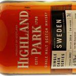 Highland Park single cask for Sweden #2121